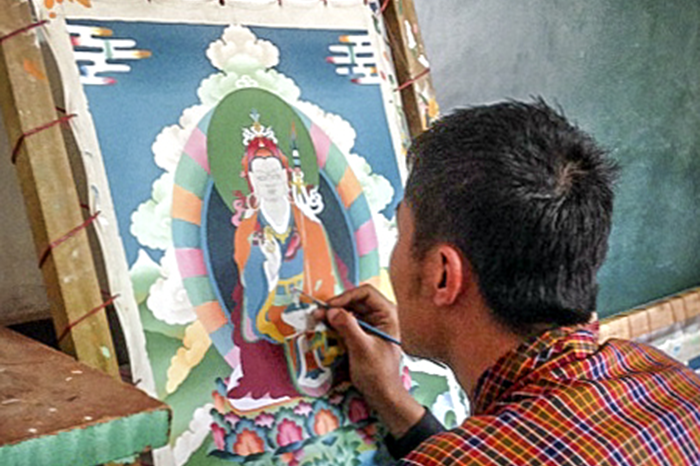Painting School in Thimphu